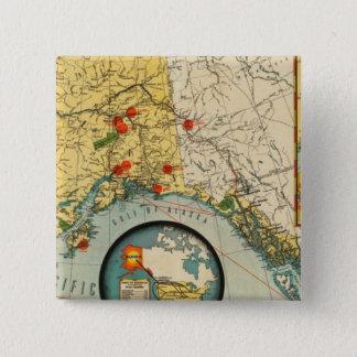 Territory of Alaska Pinback Button