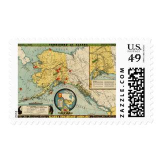 Territory of Alaska Postage Stamps