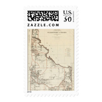 Territory Of Idaho Postage