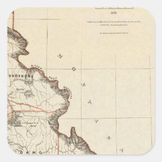 Territory Of Idaho Square Sticker