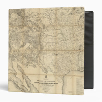 Territory of The United States 3 Ring Binders
