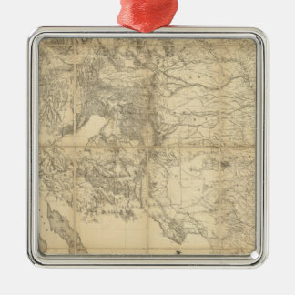 Territory of The United States Metal Ornament