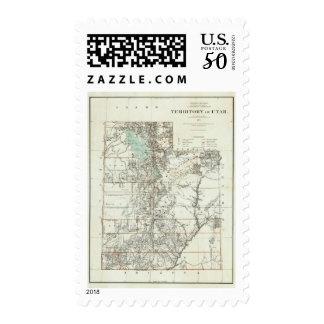 Territory of Utah 2 Postage