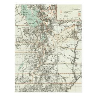 Territory of Utah 2 Postcard
