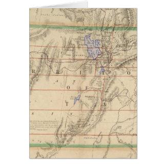 Territory of Utah Card