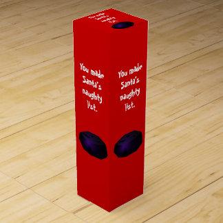Terrón de la caja de regalo del vino del carbón cajas para vino