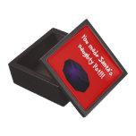 """Terrón del carbón 3"""" caja de regalo cajas de recuerdo de calidad"""