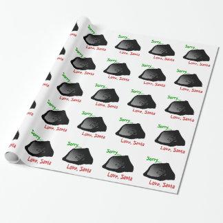 Terrón del papel de embalaje del carbón papel de regalo