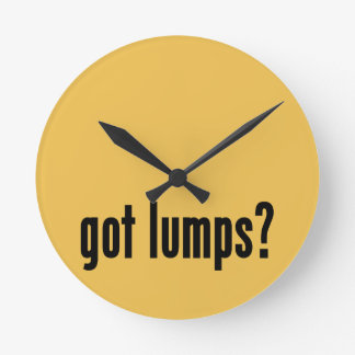¿terrones conseguidos? reloj redondo mediano