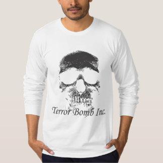 Terror Bomb Skull Black T-Shirt