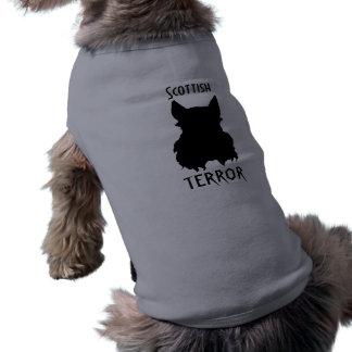 Terror escocés ropa perro