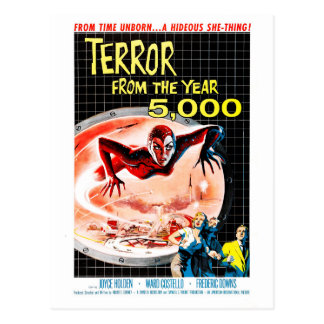 Terror From the Year 5000 Postcard