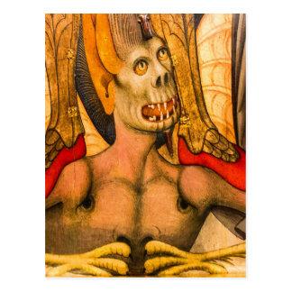terror Halloween del miedo del monstruo de los die Postales