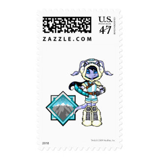 Terror Mountatin Team Captain 1 Postage Stamp