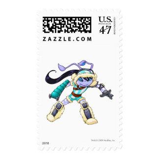 Terror Mountatin Team Captain 2 Postage Stamp