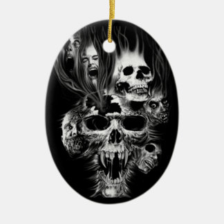 Terror of Halloween - Ceramic Ornament