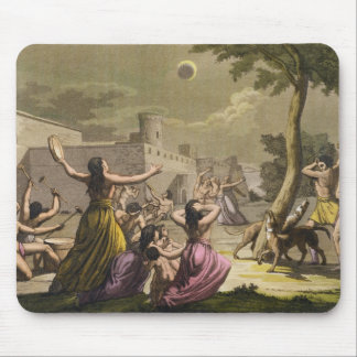 Terror of the Peruvians during an eclipse of the m Mouse Pad