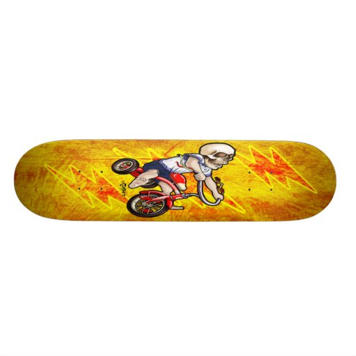 Terror on 3 Wheels Skate Decks