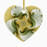 Terror Power - Fractal Art Ceramic Ornament