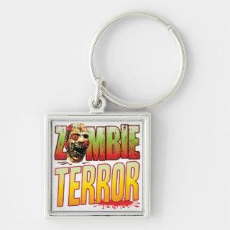 Terror Zombie Head Key Chain