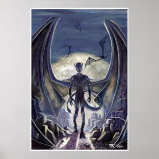Terrores de noche de Lovecraft: Nightgaunts Posters