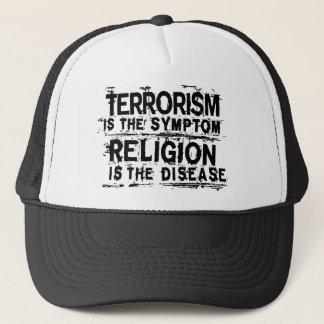 TERRORISM IS THE SYMPTOM... TRUCKER HAT