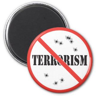 terrorismo anti imán redondo 5 cm