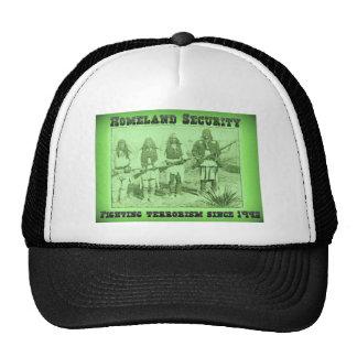 Terrorismo que lucha de la seguridad de patria des gorras