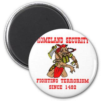 Terrorismo que lucha del nativo americano desde 14 imán para frigorifico