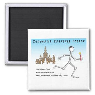 Terrorist Training Center 2 Inch Square Magnet
