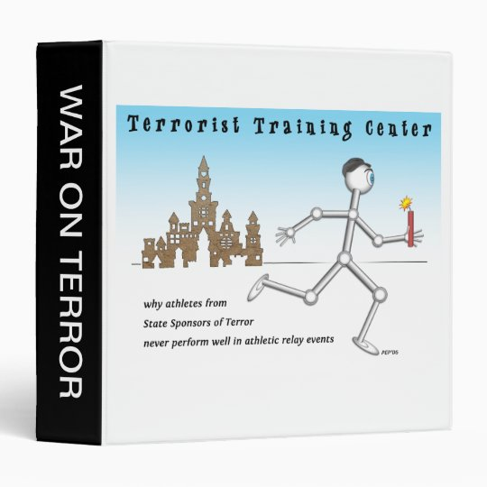 Terrorist Training Center 3 Ring Binder