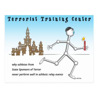 Terrorist Training Center Postcard