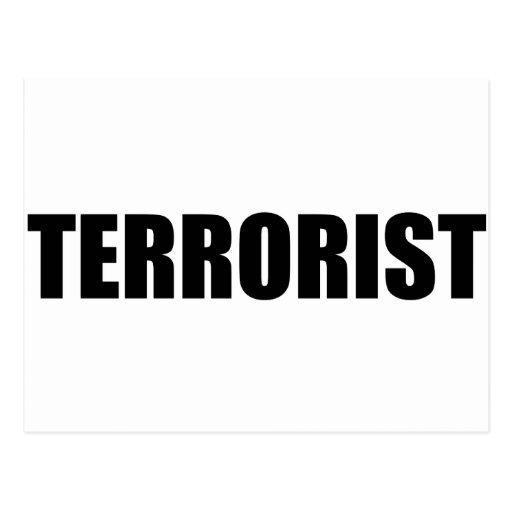 Terrorista Postales
