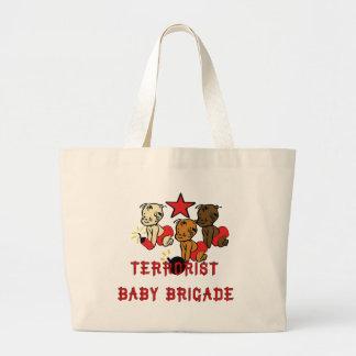 Terrorists Babies Canvas Bags