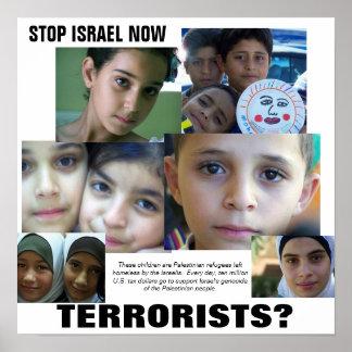 TERRORISTS? POSTER