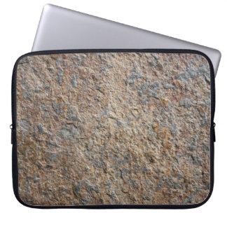 Terroso natural de la pizarra de la roca de la tex mangas computadora