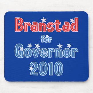 Terry Branstad for Governor 2010 Star Design Mouse Pad