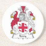 Terry Family Crest Coasters