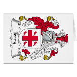Terry Family Crest Greeting Card