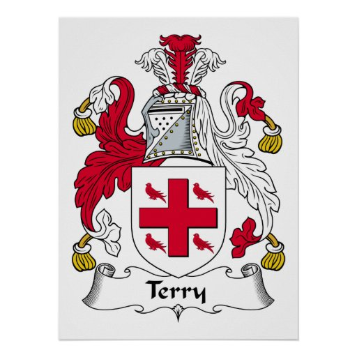 Terry Family Crest Poster