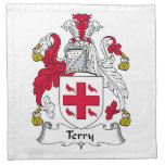Terry Family Crest Printed Napkins