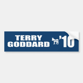 TERRY GODDARD FOR GOVERNOR BUMPER STICKERS