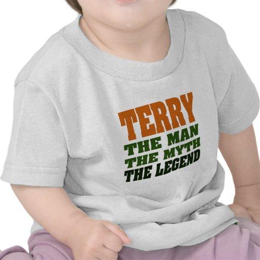 TERRY - Man, Myth, Legend Tshirt