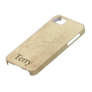 TERRY Name Personalised Cell Phone Case