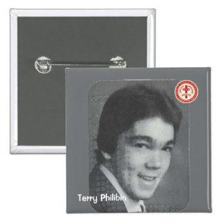 Terry Philibin Pinback Button