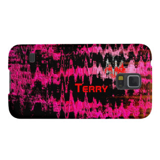 Terry Red Abstract Samsung Galaxy case