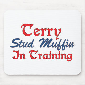 Terry Stud Muffin in Training Mouse Pad
