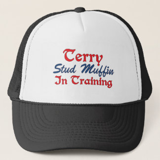 Terry Stud Muffin in Training Trucker Hat