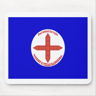 Terry's Texas Rangers Flag Mouse Pad