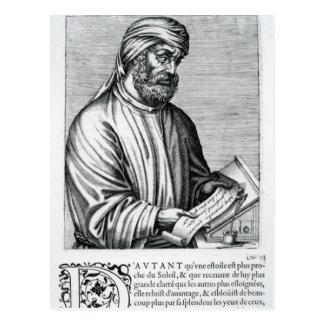 Tertullian, illustration from Andre Thevet's Postcard